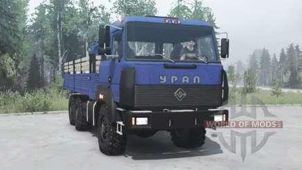 Ural 6x6 4320-3111-78 v2.0 for MudRunner