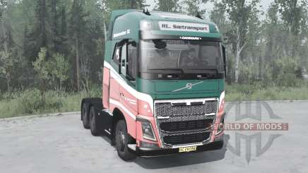 Volvo FH16 750 6x6 Globetrotter XL 2014 for MudRunner