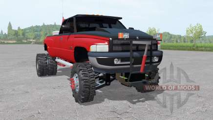 Dodge Ram 3500 Club Cab 1994 lifted for Farming Simulator 2017