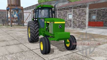 John Deere 4240 v4.0 for Farming Simulator 2017