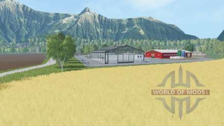 Mountain and Valley v1.1 for Farming Simulator 2015