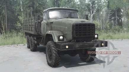 ZIL 6x6 Э133ВЯТ for MudRunner
