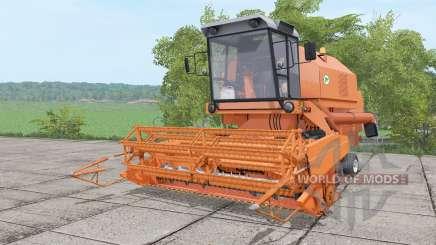 Bizon Rekord Z058 animation parts for Farming Simulator 2017