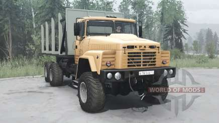 KrAZ 260 light brown for MudRunner