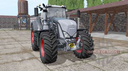 Fendt 927 Vario black v1.2 for Farming Simulator 2017