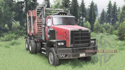 Western Star 6900XD 2008 for Spin Tires