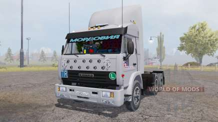 KamAZ 54115 6x6 v2.0 for Farming Simulator 2013