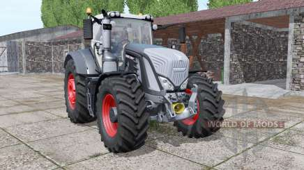 Fendt 936 Vario black befuty v1.1.2.1 for Farming Simulator 2017