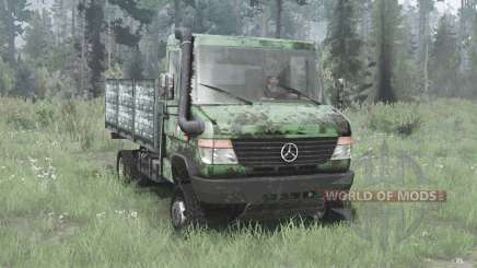 Mercedes-Benz Vario 818 D (Br.670) 1996 for MudRunner
