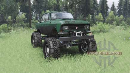 Moskvich 412 monster truck for Spin Tires