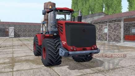 Kirovets 9450 dark red for Farming Simulator 2017