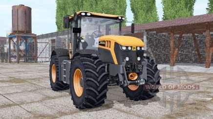 JCB Fastrac 4220 orange more options for Farming Simulator 2017