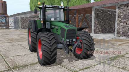 Fendt Favorit 818 wide tyre for Farming Simulator 2017