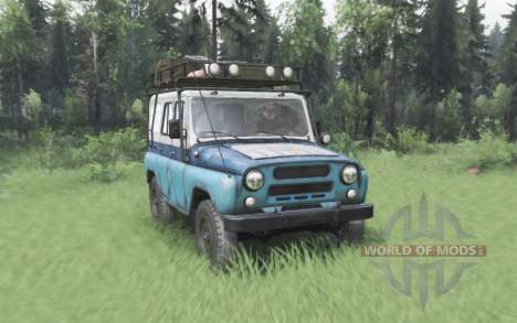 UAZ 31514 MOE for Spin Tires