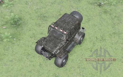 3151 UAZ TREKOL for Spin Tires