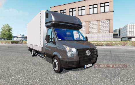 Volkswagen Crafter v2.0 for Euro Truck Simulator 2