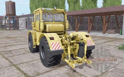 Kirovets K-700A soft-yellow for Farming Simulator 2017