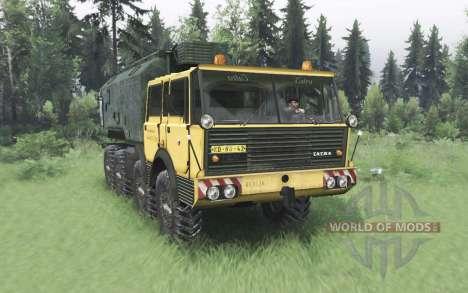 Tatra T813 TP 8x8 1967 v1.2 for Spin Tires