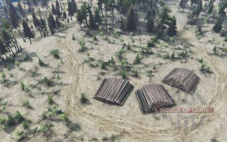 The barracks of the 25th km. for Spin Tires