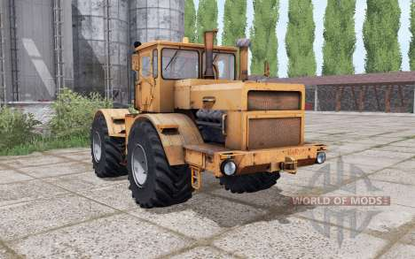 Kirovets K-700A orange for Farming Simulator 2017