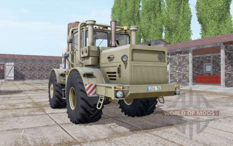 Kirovets K-700A dark-grey-yellow for Farming Simulator 2017