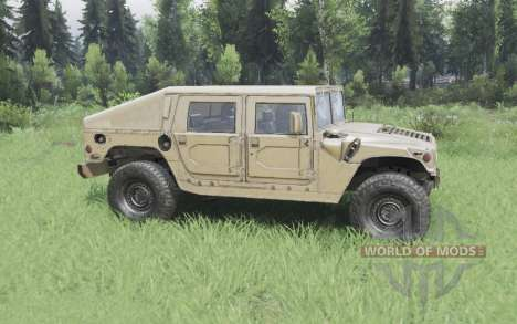 Hummer H1 military for Spin Tires