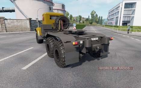 KrAZ 255 v1.33 for Euro Truck Simulator 2