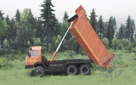 KamAZ 65111 2004 for Spin Tires