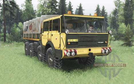 Tatra T813 TP 8x8 1967 for Spin Tires
