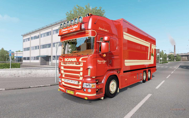 Scania R620 Fleurs for Euro Truck Simulator 2