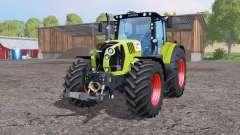 CLAAS Arion 650 twin wheеls for Farming Simulator 2015