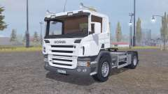 Scania P420 4x4 tractor 2004 for Farming Simulator 2013