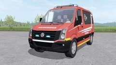 Volkswagen Crafter Van 2011 Feuerwehr v1.0 for Farming Simulator 2017