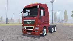 MAN TGX 6x6 for Farming Simulator 2013