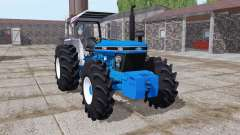 Ford 7830 vivid blue for Farming Simulator 2017