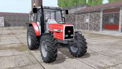 Massey Ferguson 6160 v2.0 for Farming Simulator 2017