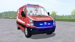 Volkswagen Crafter Van 2011 Feuerwehr v0.9 for Farming Simulator 2017