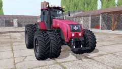 Belarus 3522 choice of wheels for Farming Simulator 2017