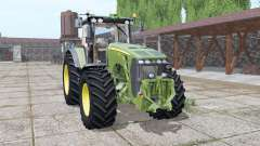 John Deere 8530 green for Farming Simulator 2017