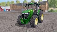 John Deere 7310R twin wheels for Farming Simulator 2015