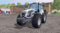 Valtra T163 grayish blue for Farming Simulator 2015