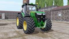 John Deere 7270R green for Farming Simulator 2017