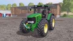 John Deere 7530 Premium animation parts for Farming Simulator 2015
