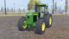 John Deere 4455 front loader for Farming Simulator 2013