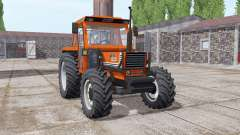 Fiat 1180 DT bright orange for Farming Simulator 2017