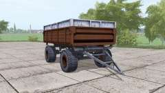 2ПТС-6 dark brown for Farming Simulator 2017