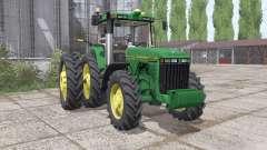 John Deere 8400 USA for Farming Simulator 2017