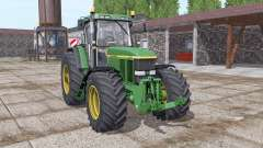 John Deere 7810 green for Farming Simulator 2017