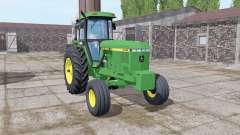 John Deere 4760 green for Farming Simulator 2017