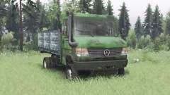 Mercedes-Benz Vario 818 D (Br.670) for Spin Tires